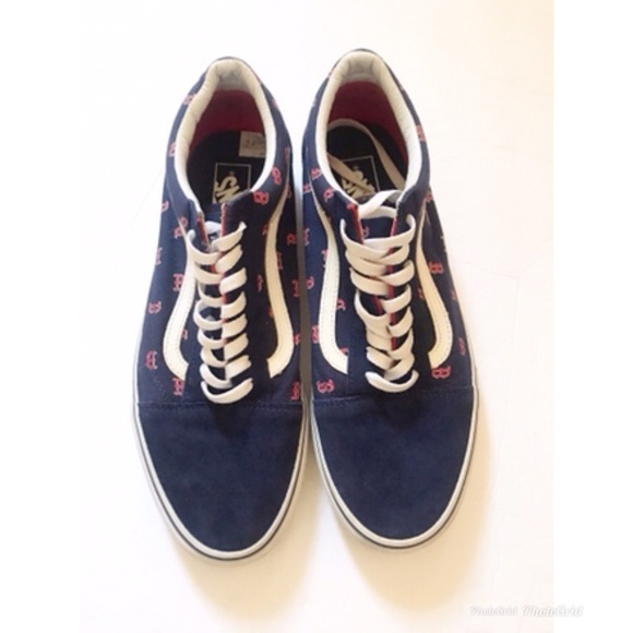 Vans Other - VANS Boston Red Sox MLB Old Skool VANS Men's Sz 11